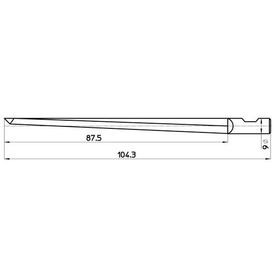 Blade 45436 - Max. cutting depth 88 mm