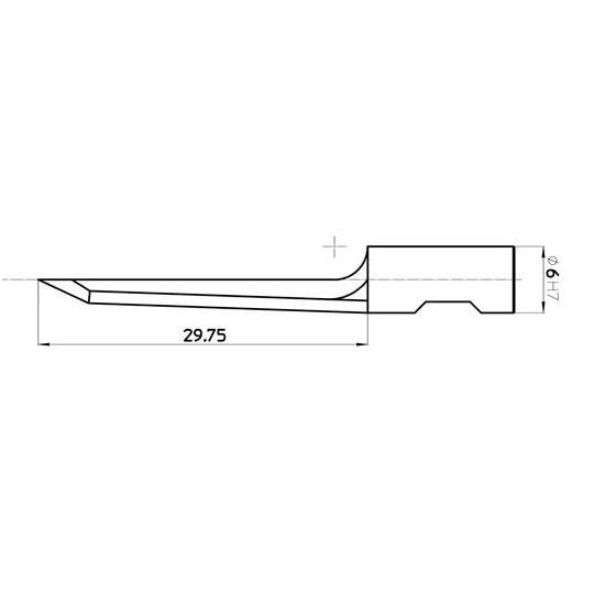 Blade 45221 - Max. cutting depth 30 mm