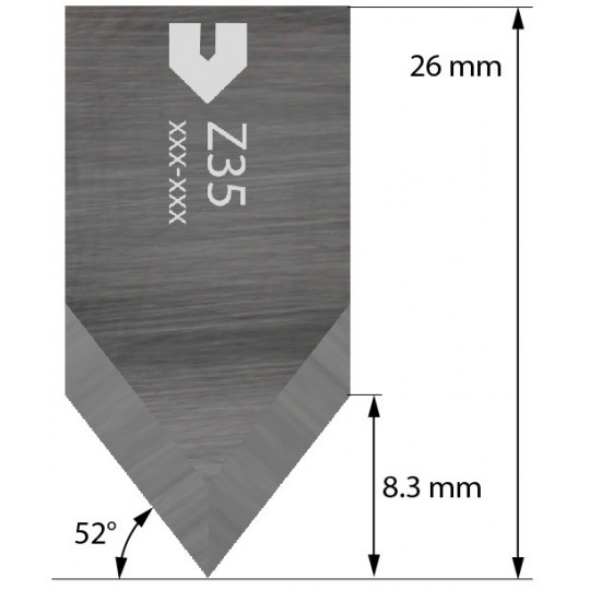 Blade 4800071 - Z35 - Cutting thickness up to 5 mm