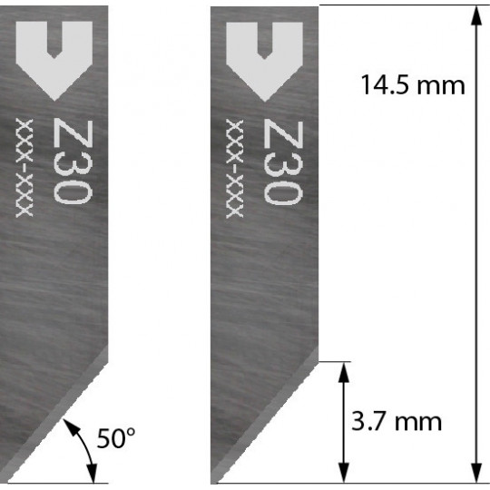 Blade 3910330 - Z30 - Cutting thickness up to 2 mm