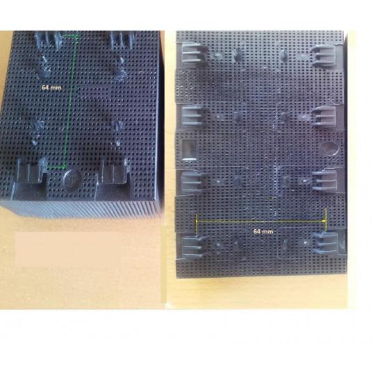 Blister Lectra MH/M55/M88/MH8/IH58/Q58/MP9 - Brush on drill nylon - Dim 9 x 13 cm