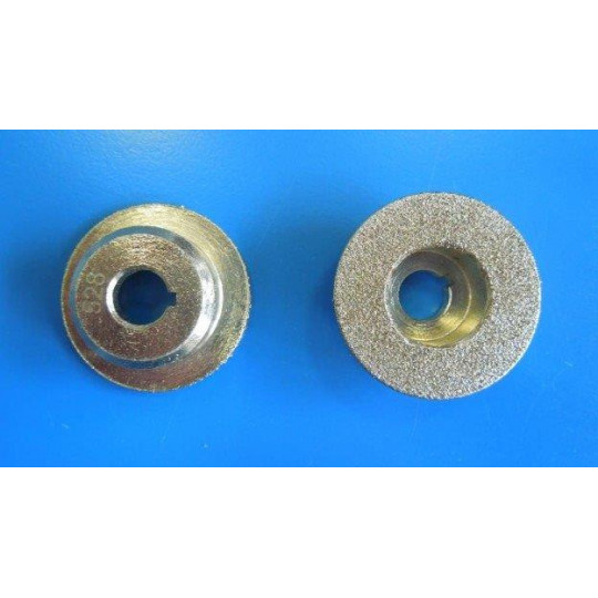 Grinding stone Bullmer silver - Ø 37 mm