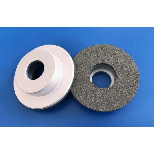 Black grinding stone medium grit