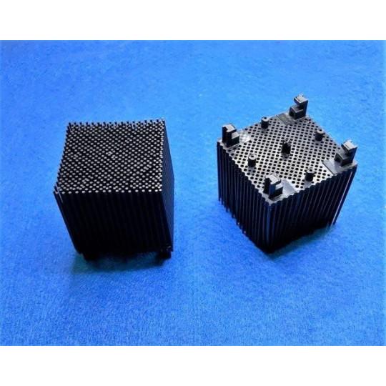 Black blister on drill nylon - Orox compatible - 5 x 5 cm