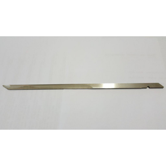 Flat blade Orox compatible - Thickness 2.4 mm - Dim 278 x 8