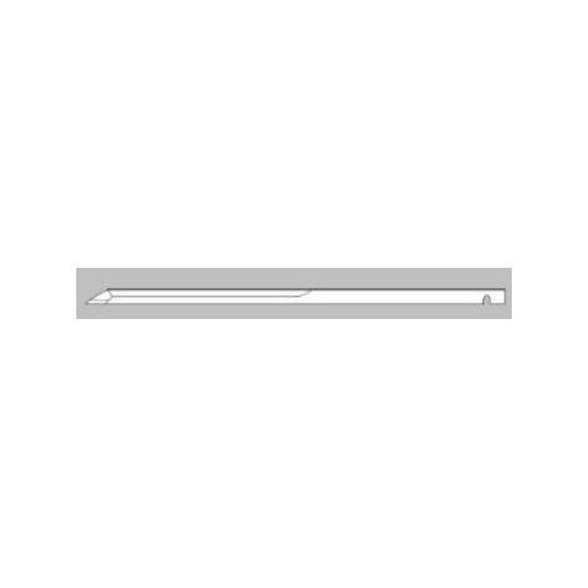 Flat blade Orox compatible - 645534 645535 OROX L8-2.5 70091- Thickness 2.5 mm - Dim 233.5 x 8