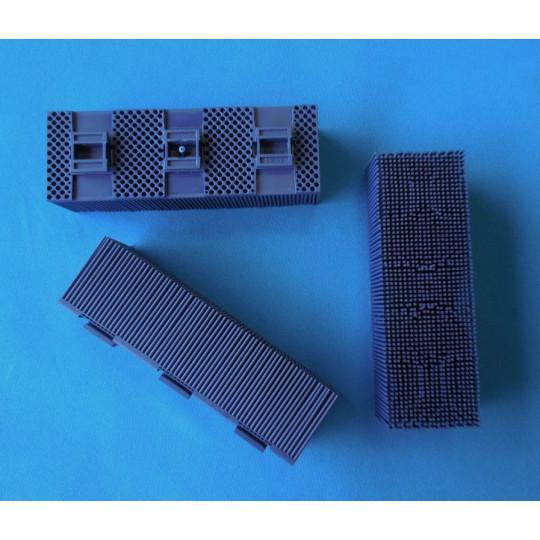 Blue blister Kuris compatible- Brush on drill nylon - 5 x 15 cm