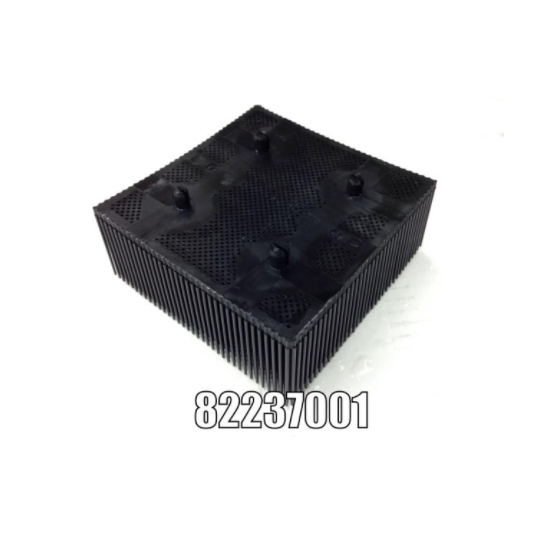 Nylon bristle - 82237001 compatible with Gerber - Round mounting