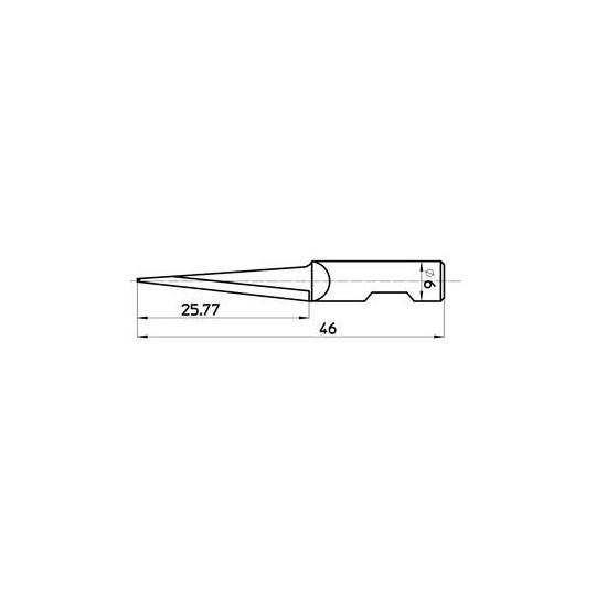 Blade 47092 - Max. cutting depth 26 mm