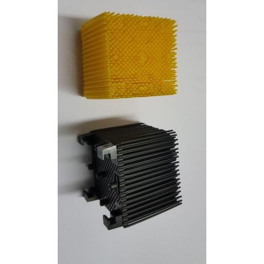 Yellow blister on drill nylon Orox compatible- 5 x 5 cm