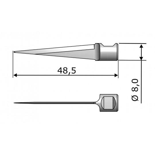 Blade 7395 Aristo compatible - Max. cutting depth 35 mm