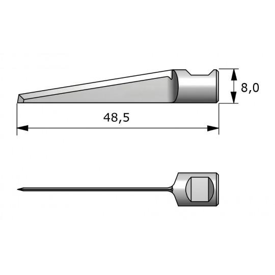 Blade 140958 Aristo compatible - Max. cutting depth 35 mm