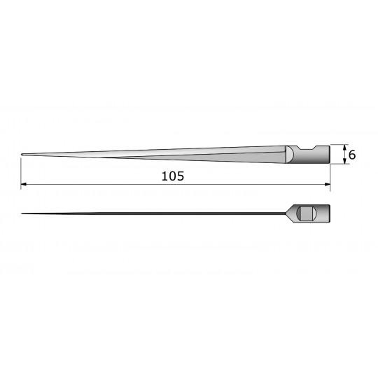 Blade 142567 Aristo compatible - Max. cutting depth 90 mm