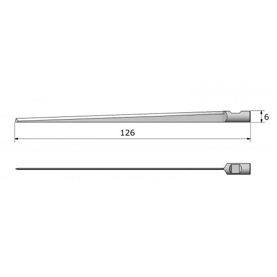 Blade 142569 Aristo compatible - Max. cutting depth 110 mm