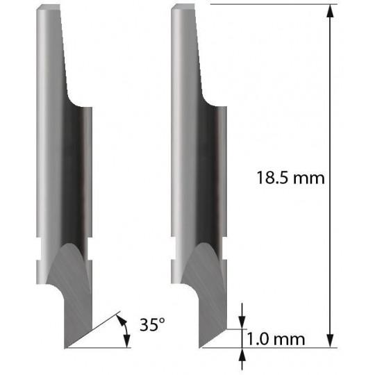Blade - 3910110 - Z2 - Maxi. cutting depth 1,0 mm