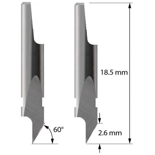 Blade - 3910117 - Z5 -  Maxi. cutting depth 2,6 mm