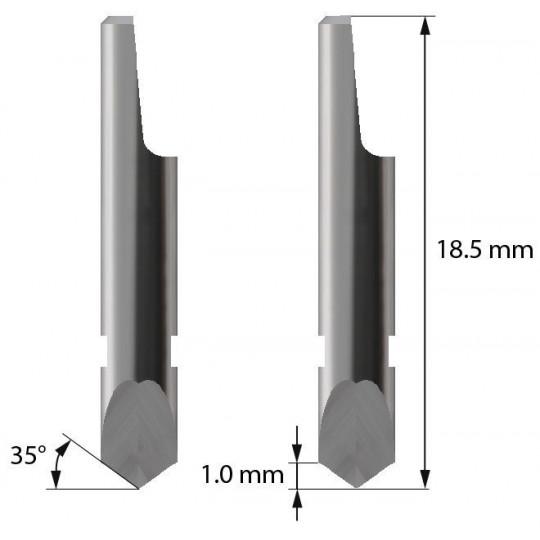 Blade - 3910115 - Z3 -  Maxi. cutting depth 1,0 mm