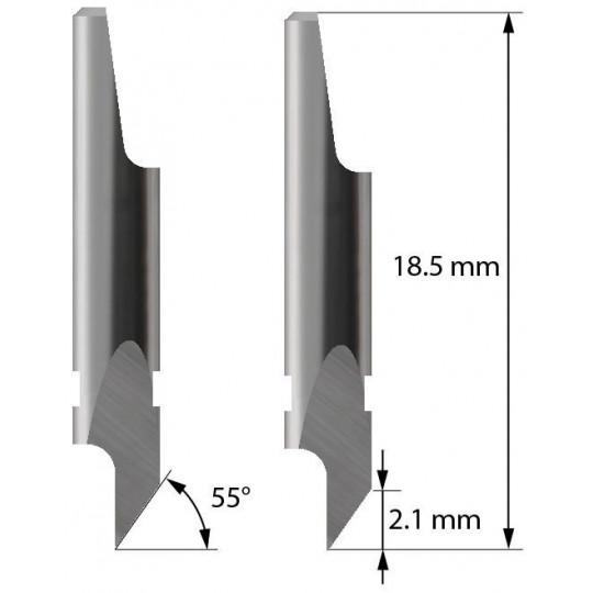 Blade - 3910116 - Z4 - Maxi. cutting depth 2,1 mm