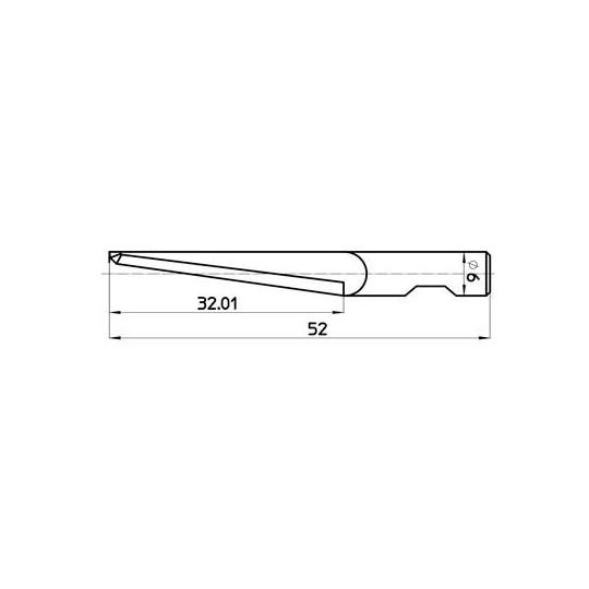 Blade 7640 Aristo compatible - Max. cutting depth 33 mm