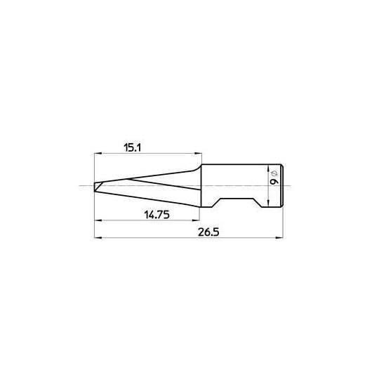 Blade 46337 - Max. cutting depth 15 mm