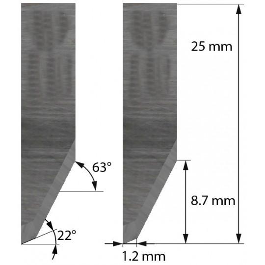 Blade 3910317 - Z26 - Max. cutting depth 8.7 mm