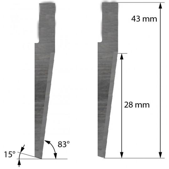 Blade compatible with Zund - 5002637 - Z63
