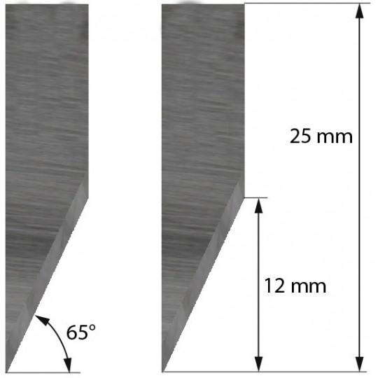 Blade Morgan Tecnica compatible - Z17 - Max. cutting depth 12 mm