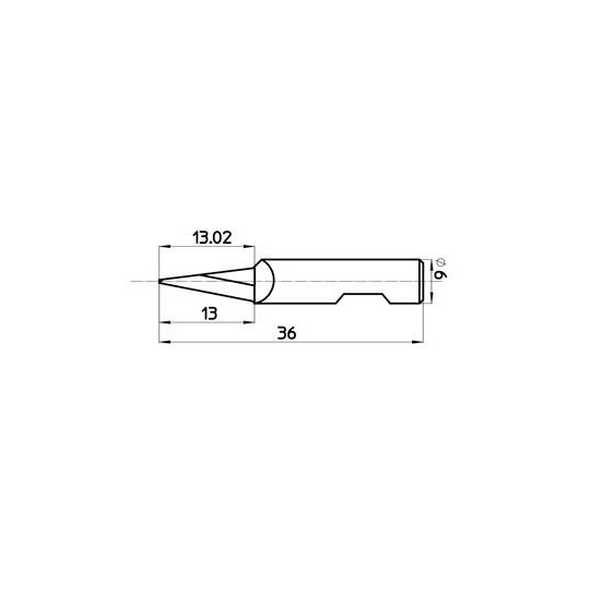 Blade 45429 - Max. cutting depth 13 mm