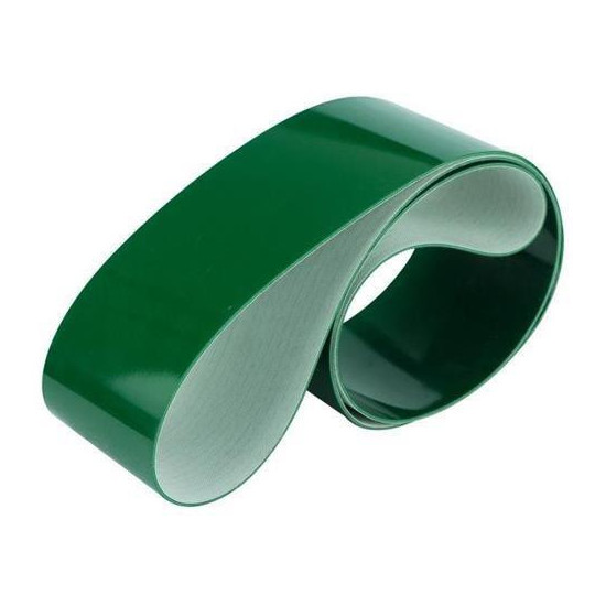 Band PVC L37 Green - Thickness 3.7 mm - Width 2500 - Price m²