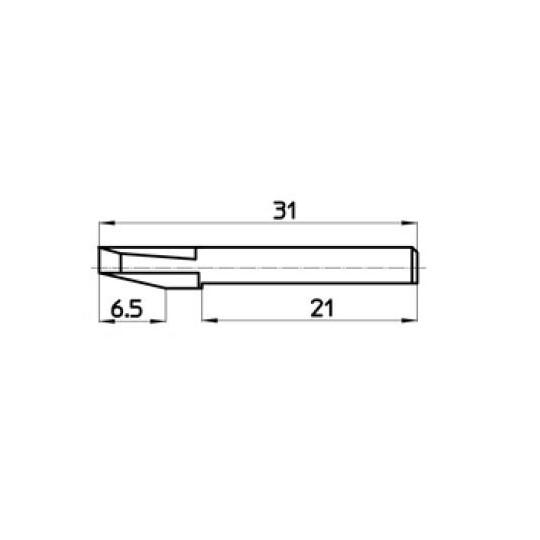 Blade 46452 Talamonti compatible - Max. cutting depth 6.5 mm