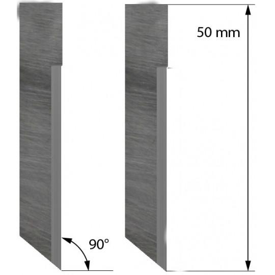 Blade V-Cut Hard Metal 500-9826 - Z71 - Max. cutting depth 18-27 mm