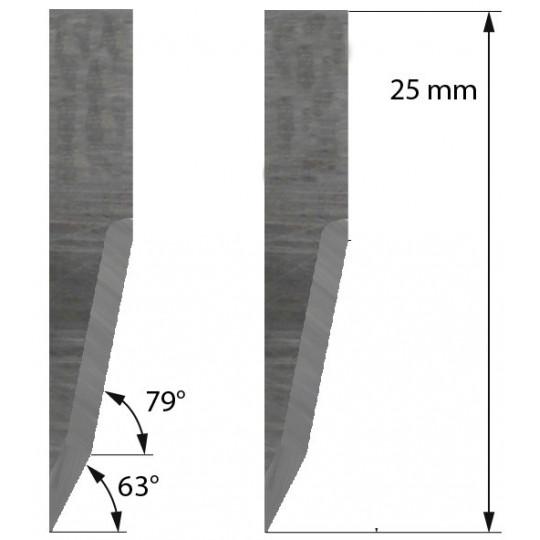 Blade 500-9810 Summa compatible - Z22- Max. cutting depth 11 mm