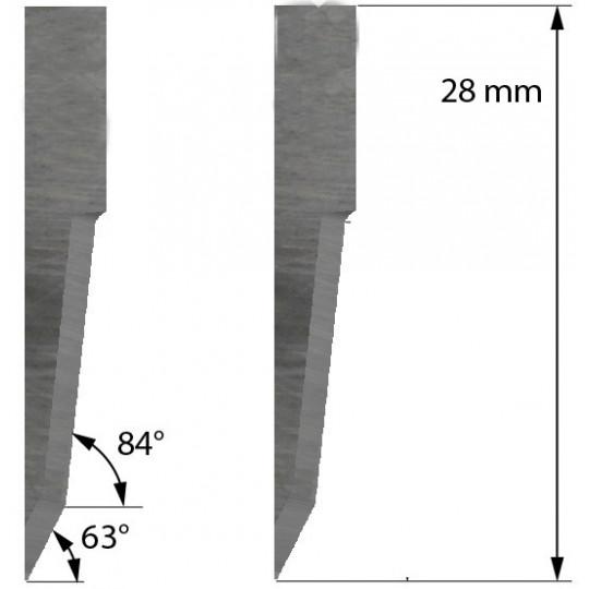 Blade 500-9811 Summa compatible - Z21 - Max. cutting depth 11 mm