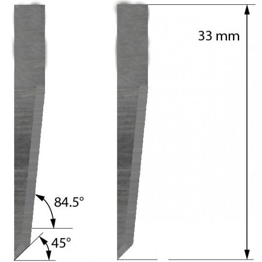 Blade 500-9812 Summa compatible - Z23 - Max. cutting depth 14 mm
