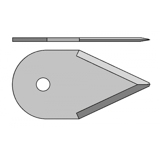 Blade Lasercomb compatible - 310087 - Max cutting depth 12 mm