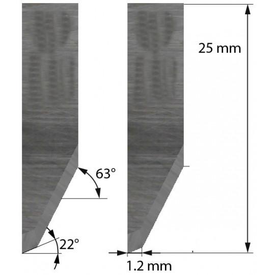 Blade Z26 - Max. cutting depth 6 mm