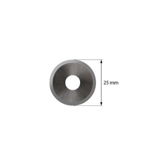 Blade Iecho compatible - Z53 - Max. cutting depth 2,0 mm - ø 25 mm - ø inside hole 8 mm