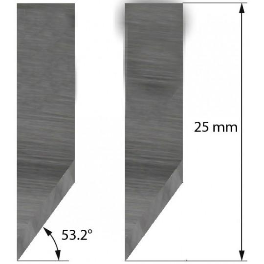 Blade 3910306 - Z16 - Max. cutting depth 7.4 mm - Delta Diemaking compatible