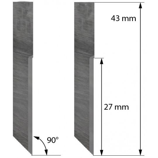 Blade 5005642 Delta Diemaking compatible - Z70 - Max. cutting depth 15.6 mm