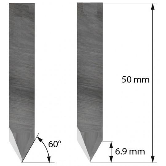 Blade 3910309 - Z11 - Max. cutting depth 6.9 mm - Delta Diemaking compatible