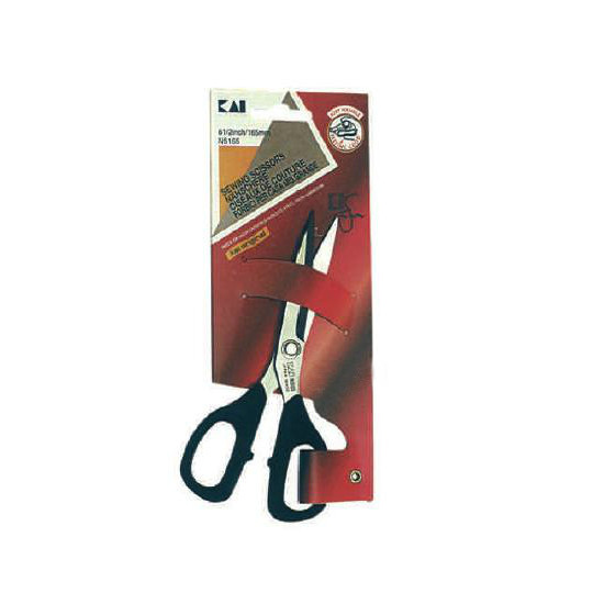 Scissors Kai micro-toothed 165 mm