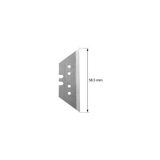 Blade Ronchini compatible - Z73 - Max. cutting depth 16,0/18,2 mm