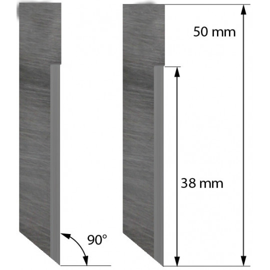 Blade 5006045 Ronchini compatible - Z71 - Max. cutting depth 16/18.4 mm