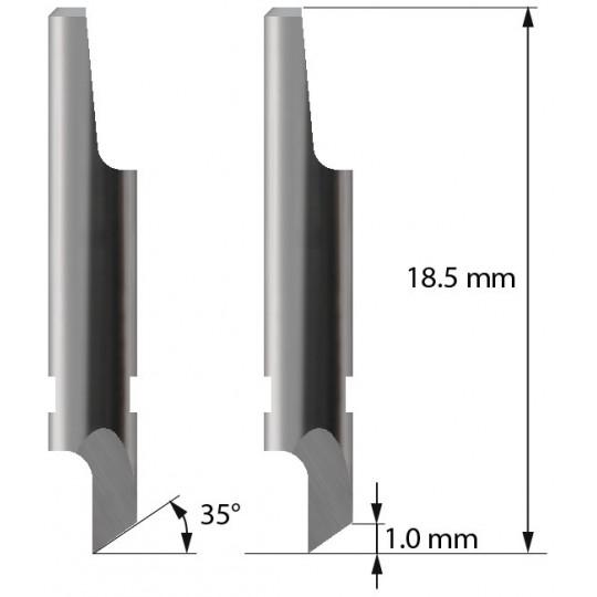 Blade 3910105 - Z1 - Max cutting depth 1 mm - Balacchi compatible