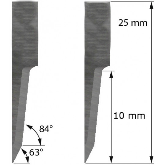 Blade Balacchi compatible  - Z20 - Max. cutting depth 10 mm