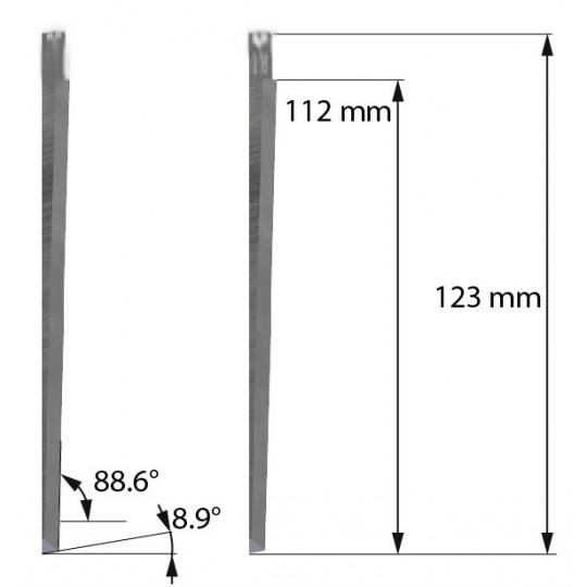 Blade Balacchi compatible - Z606 - Max. cutting depth 72 mm