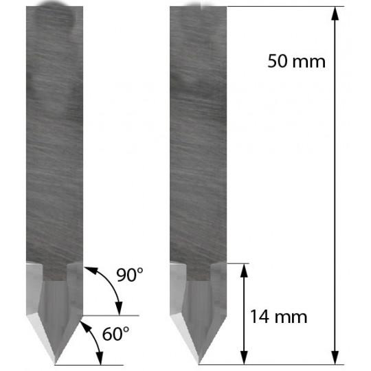 Blade 3910340 - Z44 - Max. cutting depth a 14 mm - Balacchi compatible