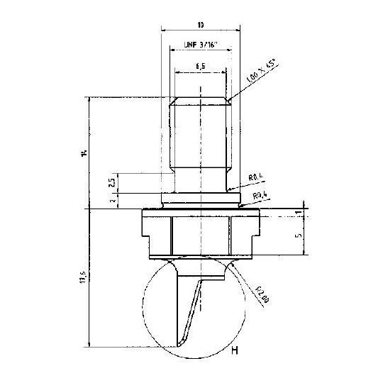 Ultrasonic blade Balacchi