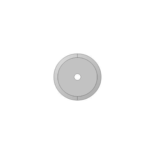 Blade - ø 36 mm SCM compatible - ø inside hole 10 mm