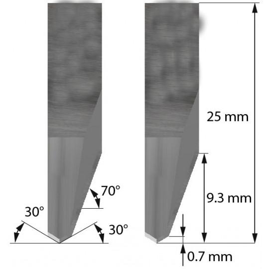 Blade 5205519 Aoke-Kasemake compatible - Z82 - Max cutting depth 9.3 mm